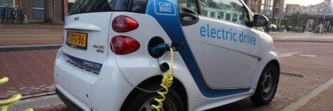 Auto mit Elektroantrieb