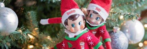 Elf on the Shelf zu Weihnachten