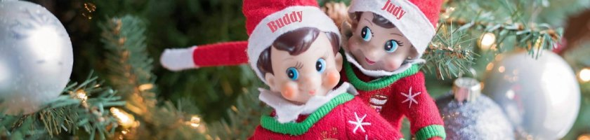 Elf on the Shelf zu Weihnachten