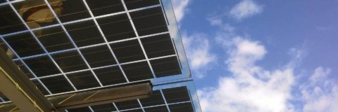 Moderne Solar Dächer
